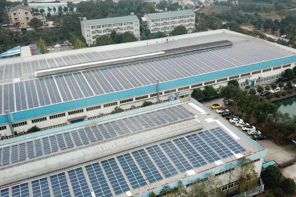 Proyecto China Ningbo 1,8MWp