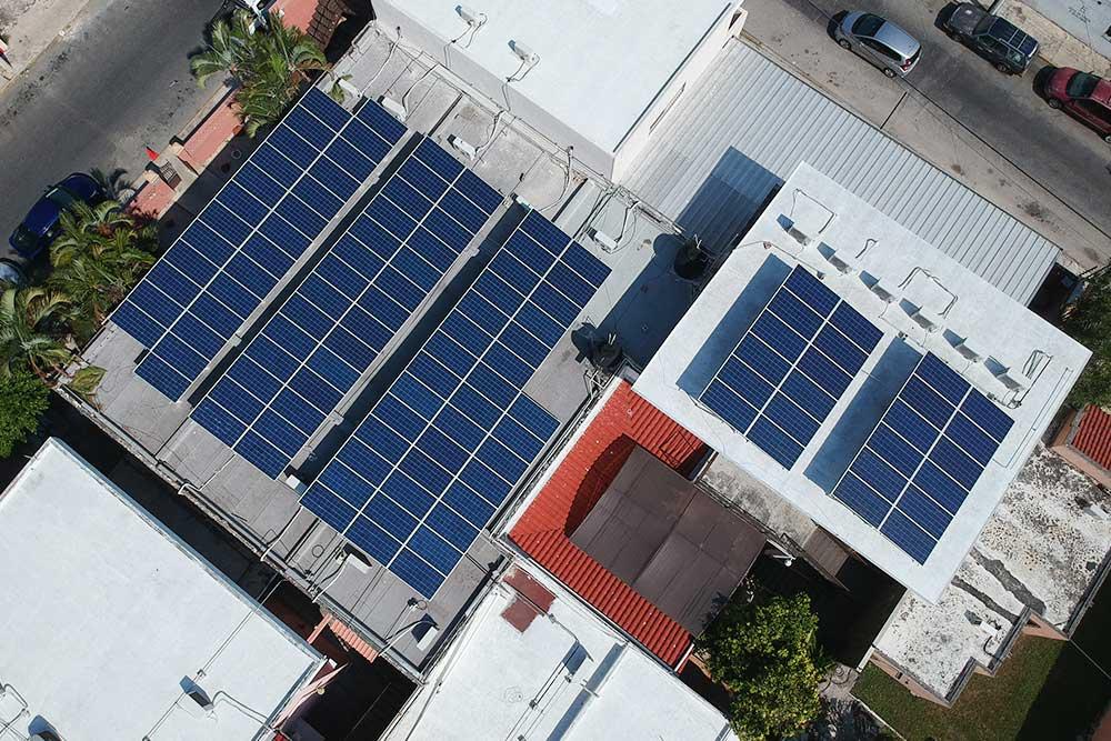 Proyecto para Instituto de ciencias en Mérida México 80kWp