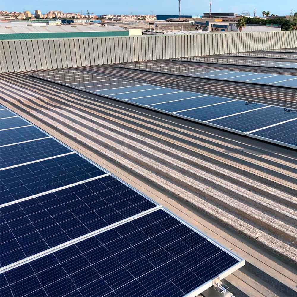 Proyecto Exclusivas Camacho Málaga España 100kWp