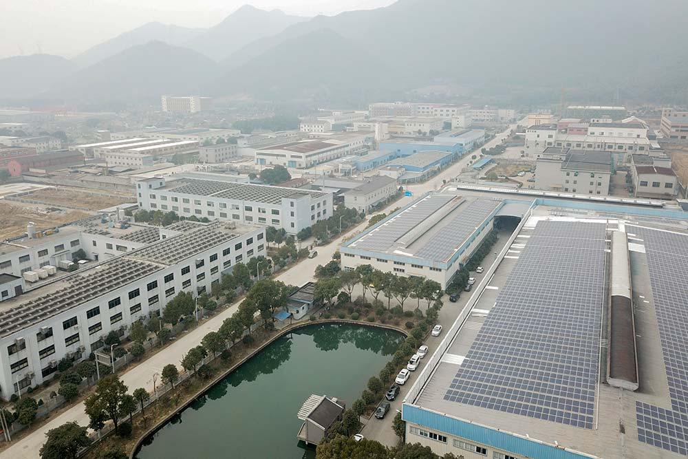 Proyecto en Ningbo China 1,8MWp