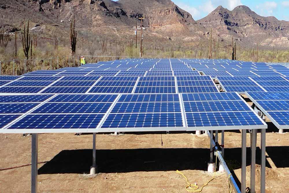 Proyecto en Santarosalia Mexico 1MWp