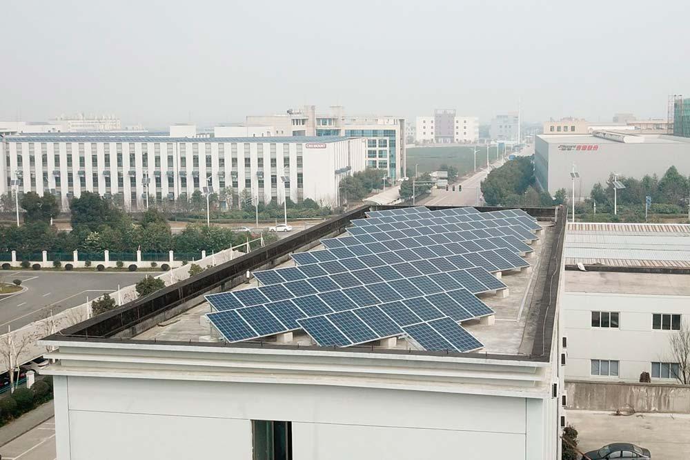 Proyecto Xiecheng 640kwp China