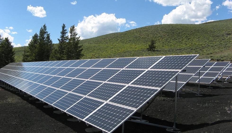 Placas solares suelo
