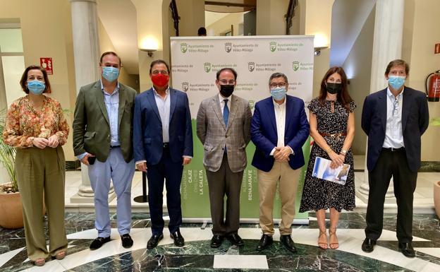 MASPV Energy y el alcalde de Velez Málaga